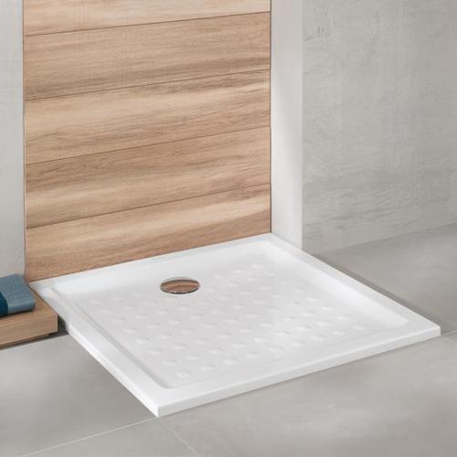 Villeroy & Boch O.novo Quadrat Duschwanne L: 90 B: 90 H: 3 cm weiß 62219001
