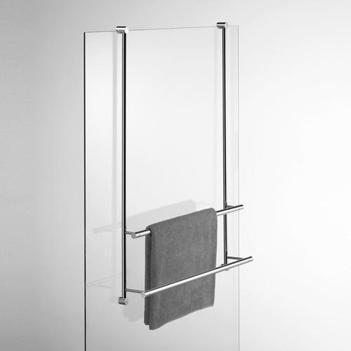 Giese Server Badetuchhalter für Glasduschen B: 500 H: 830 mm 30860-02