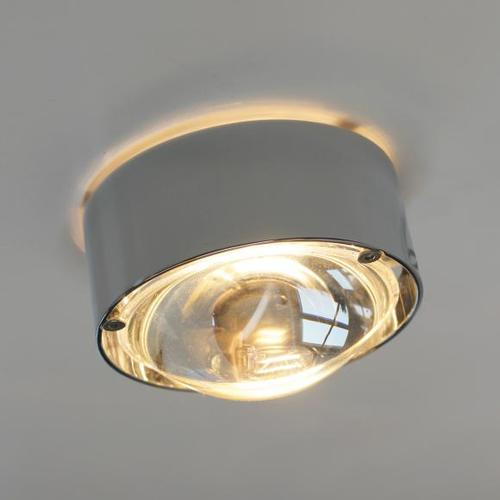 Top Light Puk One Deckenleuchte, Halogen Ø 8 H: 3.3 cm, chrom 2-08002, EEK: A+