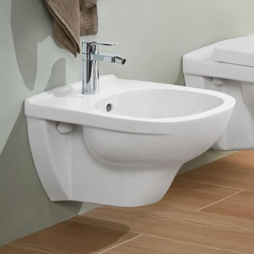 Villeroy & Boch O.novo Wand-Bidet L: 56 B: 36 cm weiß, mit CeramicPlus 546000R1
