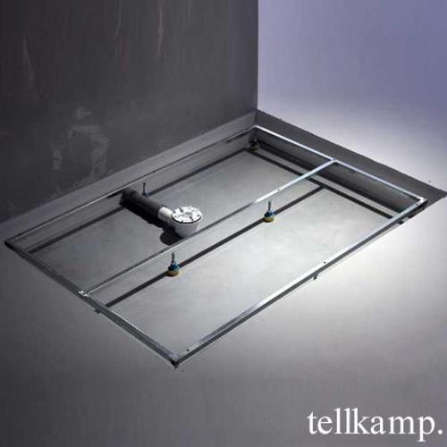 Tellkamp Aquazone Trägergestell für Duschwanne L: 140 B: 80 H: 3,5 cm TN0300-018-14080U