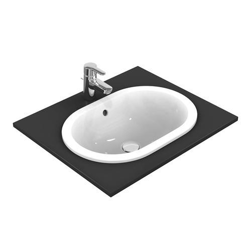 Ideal Standard Connect Einbauwaschtisch oval B: 62 T: 41 cm weiß E504901