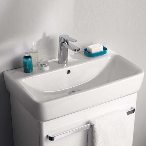 Geberit Renova Compact Waschtisch B: 60 T: 37 cm weiß 226160000