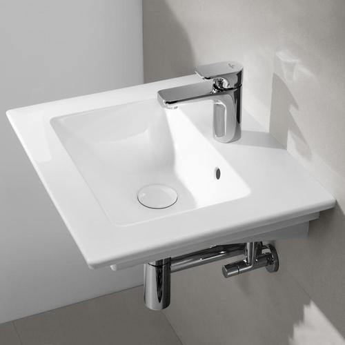 Villeroy & Boch Venticello Handwaschbecken B: 50 T: 42 cm weiß, mit 1 Hahnloch 41245001
