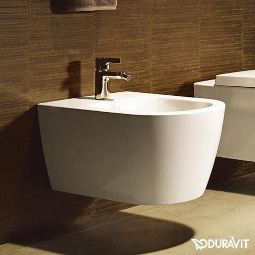 Duravit ME by Starck Wand-Bidet L: 57 B: 37 cm weiß, mit WonderGliss 22881500001