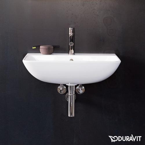 Duravit ME by Starck Handwaschbecken B: 45 T: 32 cm weiß, mit 1 Hahnloch 0719450000