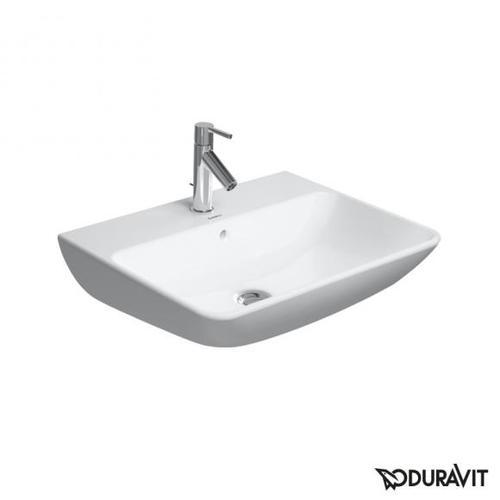 Duravit ME by Starck Waschtisch B: 55 T: 44 cm weiß, mit 1 Hahnloch 2335550000