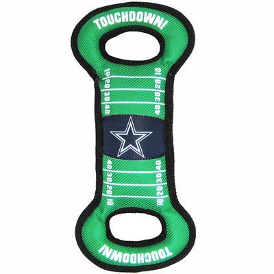 Dallas Cowboys Football Field Tug Toy