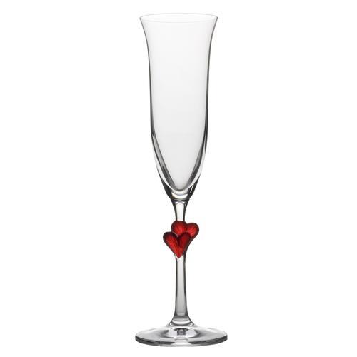 Stölzle Sektglas L'Amour, (Set, 2 tlg.), 2-teilig farblos Kristallgläser Gläser Glaswaren Haushaltswaren