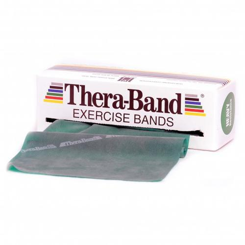 Thera-Band - Übungsband - Fitnessband Gr 12,8cm x 5,50m grün