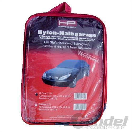 Nylon-halbgarage Autogarage Wetterschutz Wintergarage 259x122x61cm Ean 4007928181725 Art.-nr. 18172