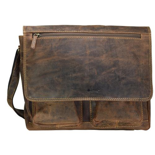 Greenburry Vintage Messenger Leder 35 cm brown