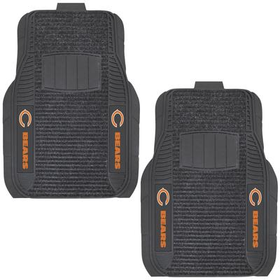 Chicago Bears Two-Piece Deluxe Car Mat Set