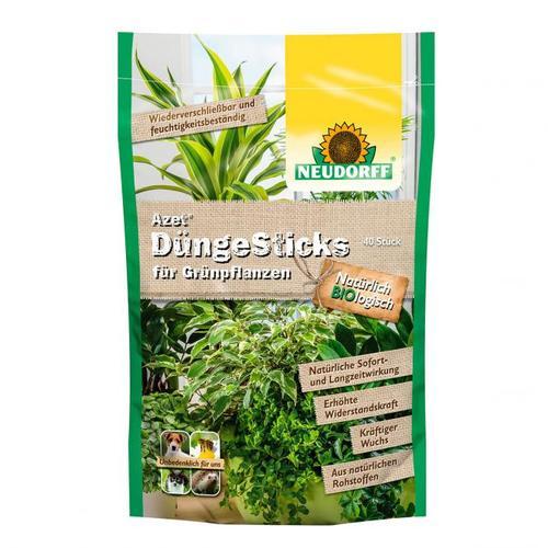 Azet® DüngeSticks für Grünpflanzen, 40 Stück