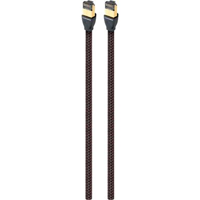 AudioQuest RJE Cinnamon 2.5' Ethernet Cable - Black/Red - RJECIN0.75