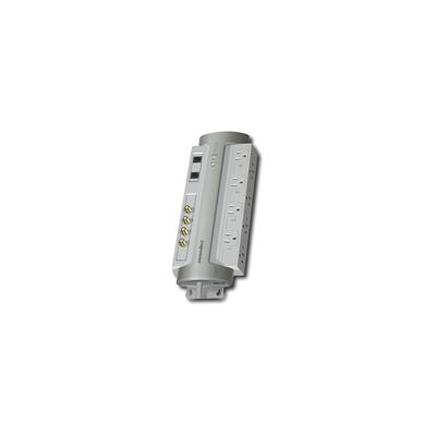 Panamax 8-Outlet Power Conditioner/Surge Protector - Gray - PM8-AV