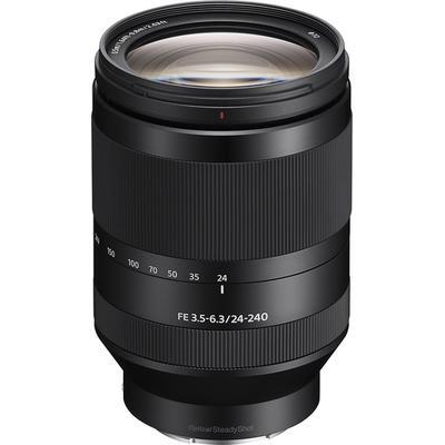 Sony FE 24-240mm f/3.5-6.3 OSS Full-Frame E-Mount Telephoto Zoom Lens - Black - SEL24240
