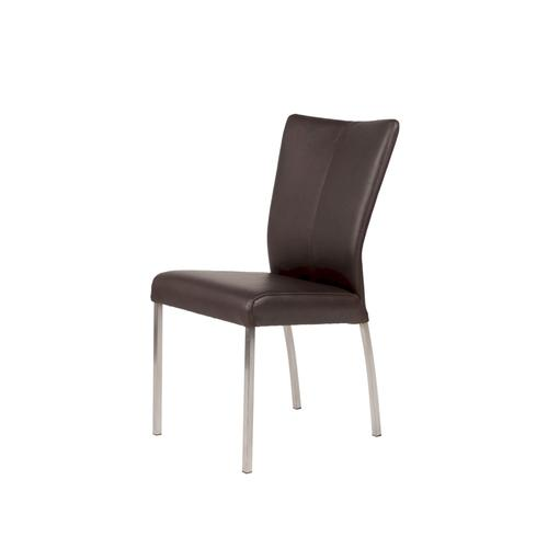 SIT Roma Echtleder Stuhl 2er-Set Bonanza Brown 85