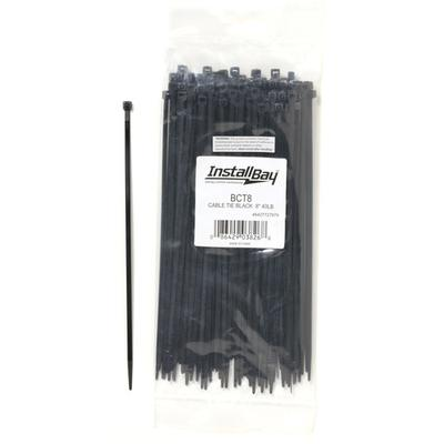 """Metra ethereal BCT8 Cable Tie 8"""" Package of 100"""