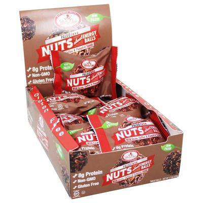 Betty Lou's Snacks - Nuts About Energy Balls Paleo Java - Box of 12