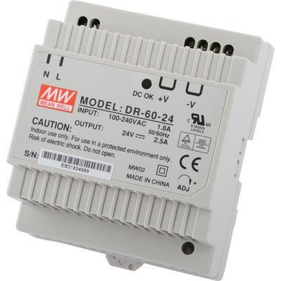 MeanWell SNT MW-DR60-24 Power Su...