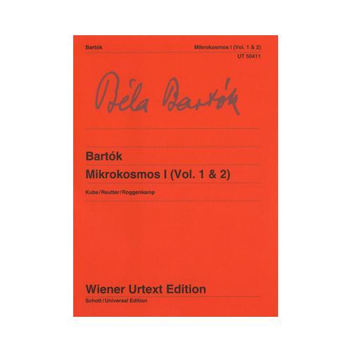 Wiener Urtext Edition Bartok Mikrokosmos I (Vol.1&2)