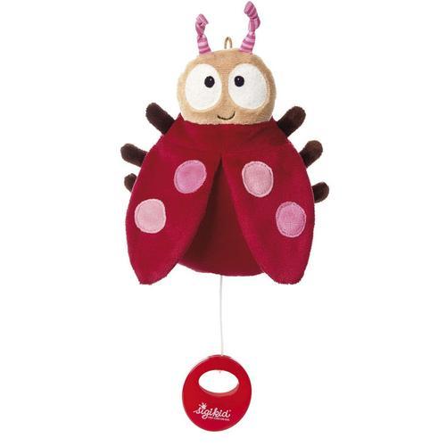 Baby Spieluhr Kuscheltier Marienkäfer Sigikid mit Tasche
