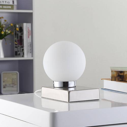 Tischlampe Naomi mit Glaskugel