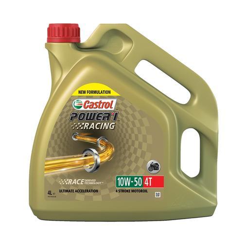 4-?Takt Motoröl '10W-50 POWER 1 Racing 4T (4 L)' | Castrol, Inhalt: 4 Liter, Viskositätsklasse SAE: 10W-50