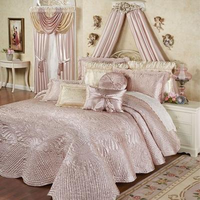 Portia II Grande Bedspread Rose Quartz, King 24