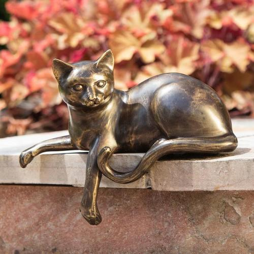 Bronze-Figur Katze Bastet