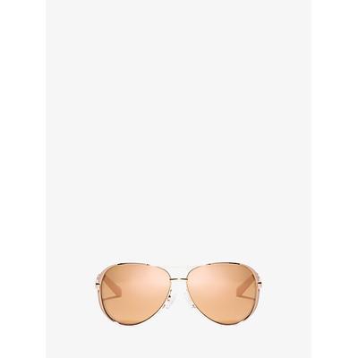 Michael Kors Chelsea Sunglasses Rose Gold One Size