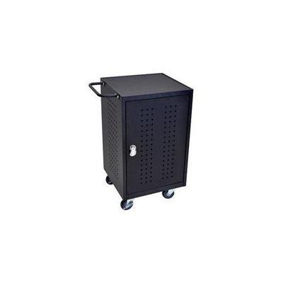 Luxor Luxor 20D X 26W Locking Steel Tablet Charging Cart - Black, LLTM30-B, LLTM30 B, LLTM30B LLTM30