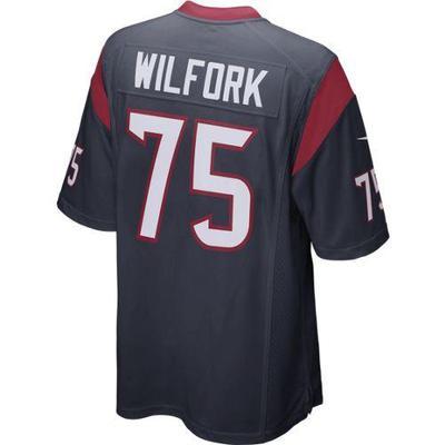 Nike Men's Houston Texans Vince Wilfork #75 Home Replica Jersey