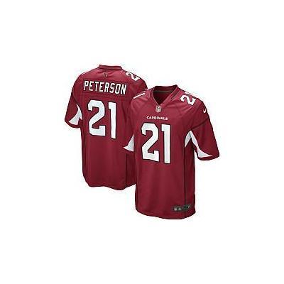 Nike NFL Arizona Cardinals (Patrick Peterson) Men's Football Home Game Jersey (3XL-4XL) - Tough Red