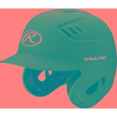 Rawlings R16 Series Matte Purple Baseball Batting Helmet
