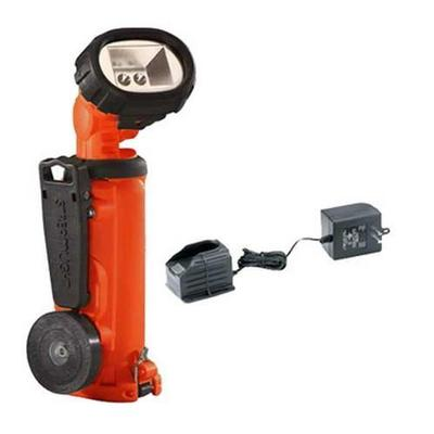 Streamlight Knucklehead Light - w/Clip 120V AC Fast Charge Orange