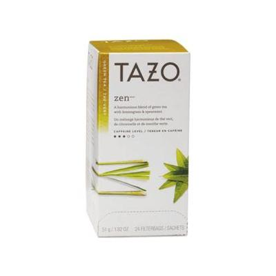 """Tazo Tea Bags, Zen, 1.82 Oz, Individually Wrapped, 24/box (Tzo149900)"""
