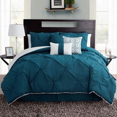 Callie Comforter Bed Set Sapphire, King, Sapphire