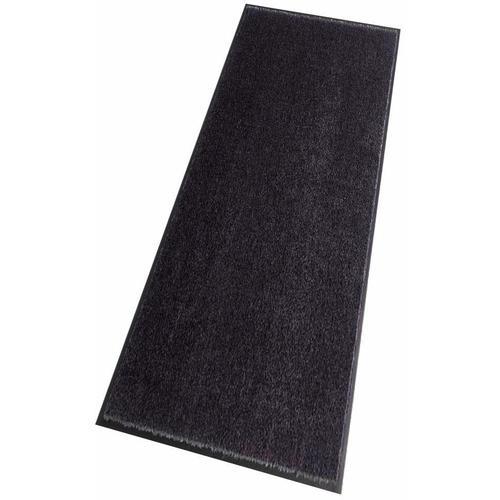 HANSE Home Läufer Deko Soft, rechteckig, 7 mm Höhe, Schmutzfangläufer, Schmutzfangteppich, Schmutzmatte, waschbar grau Teppichläufer Teppiche und Diele Flur