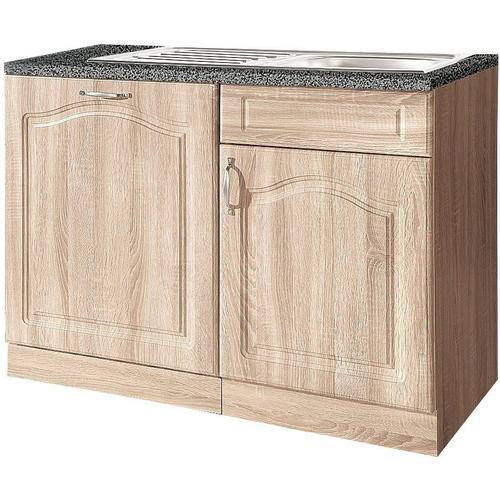 wiho Küchen Spülenschrank, 110 cm breit, inkl. Tür für Geschirrspüler