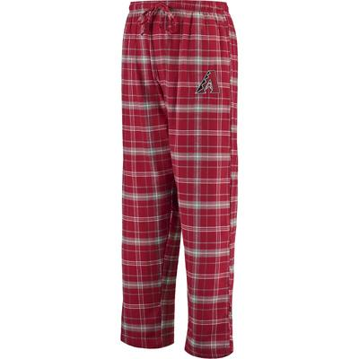 """Concepts Sport Arizona Diamondbacks Cardinal/Gray Ultimate Plaid Flannel Pants"""