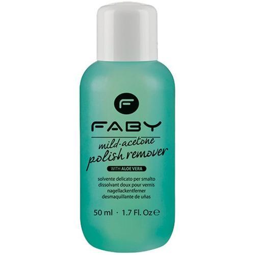 Faby Mild Acetone Polish Remover Aloe Vera 125 ml