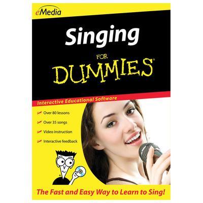 Emedia Singing For Dummies - Win