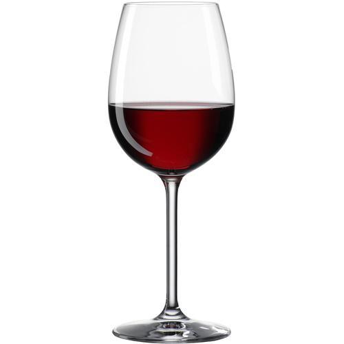 BOHEMIA SELECTION Weinglas CLARA, (Set, 6 tlg.), 6-teilig farblos Kristallgläser Gläser Glaswaren Haushaltswaren
