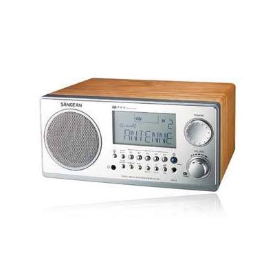 Sangean WR-2 Digital AM/FM Table Top Radio - Walnut