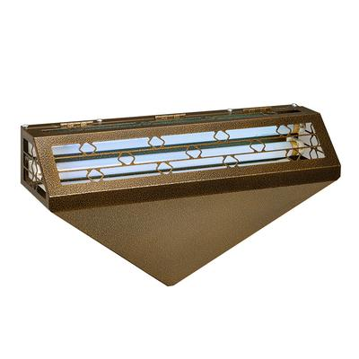 Curtron 120-150GOLD Decorative Silent Fly Trap w/ 1,800 sq ft Coverage - Gold, 120v