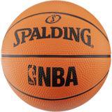 Spalding NBA Miniball in orange,...