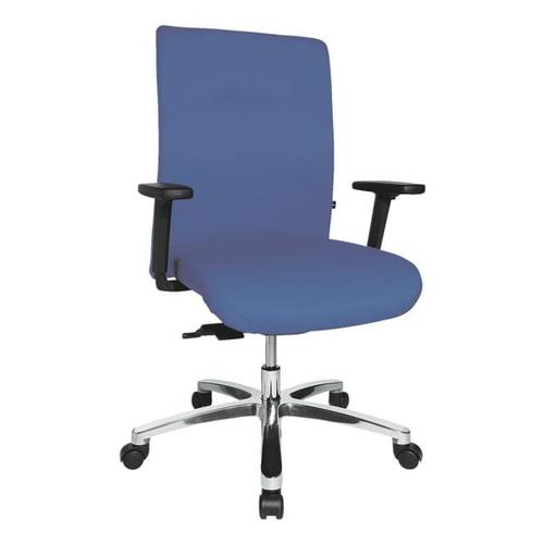 Schwerlast-Bürostuhl »Big Star 10« mit Armlehnen blau, Topstar