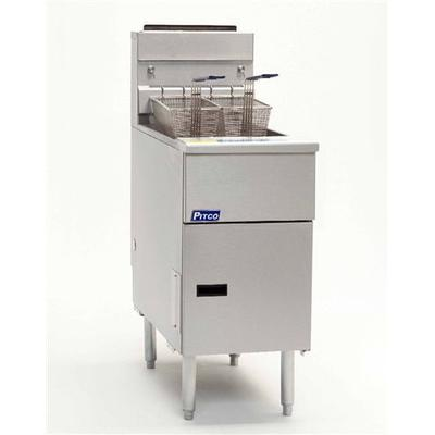 Pitco Frialator SG14S Solstice Gas Fryer - Stainless Steel